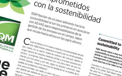 SQM Iberian comprometida con la sostenibilidad