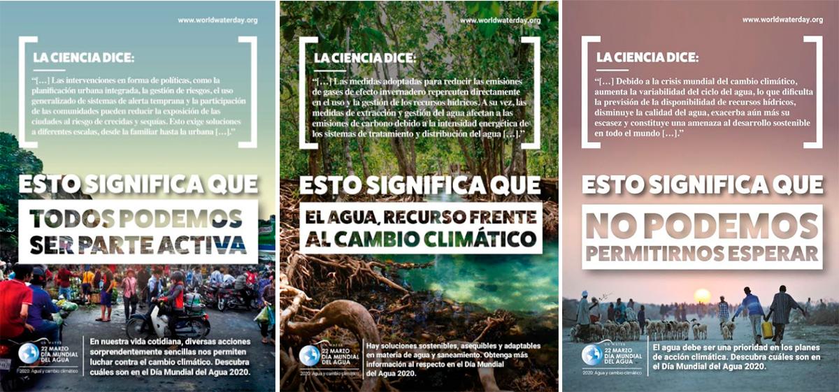Posters día del agua