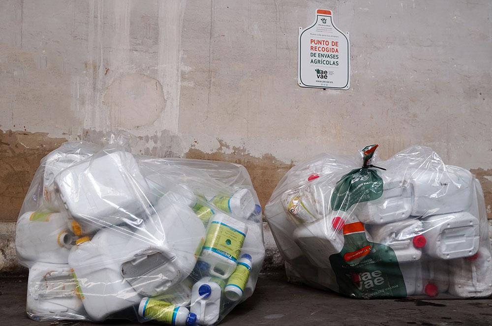 Tecnología Blockchain en el reciclaje de envases agrícolas