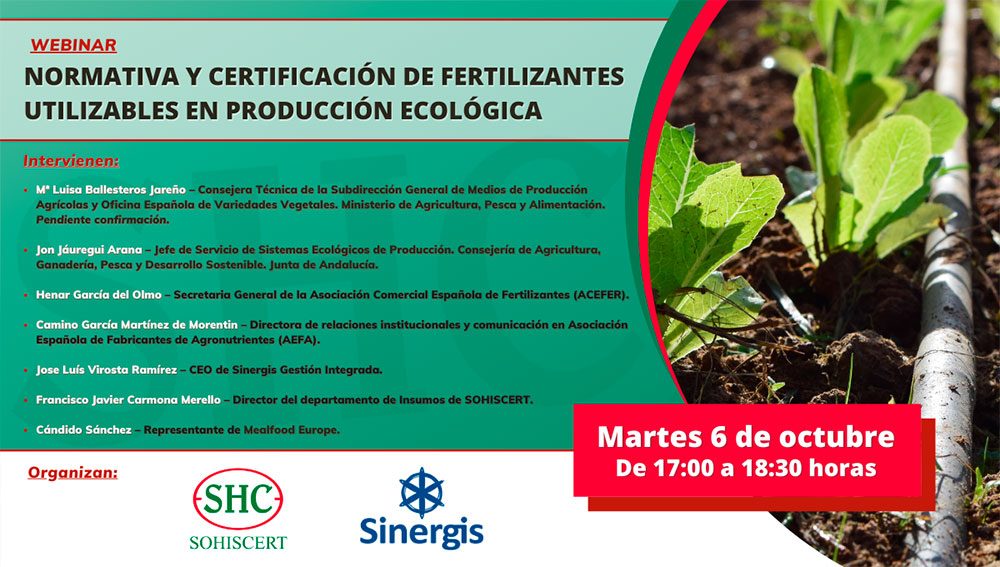 Normas UNE de agricultura ecológica