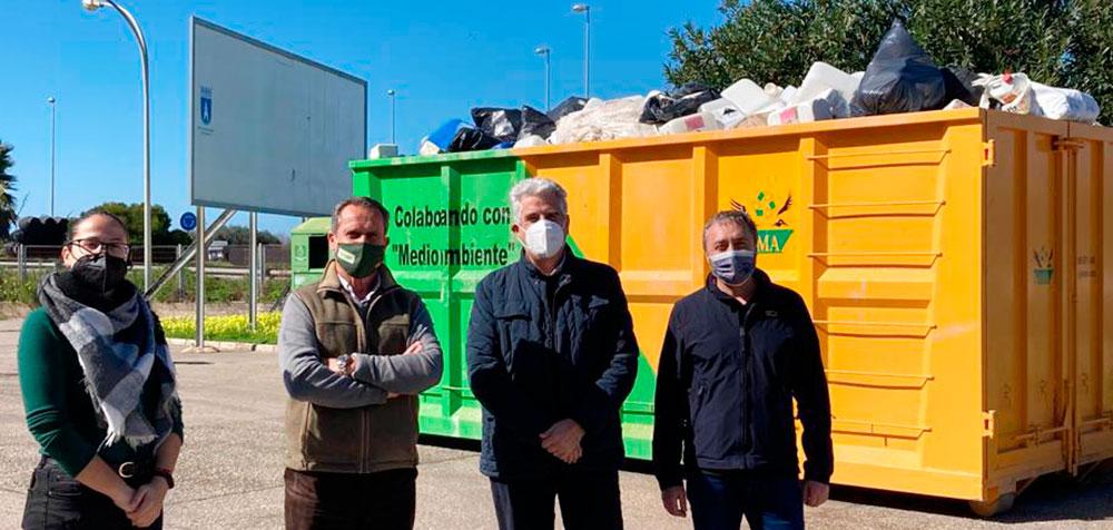 Soluciones para la recogida de envases agrícolas en Chipiona