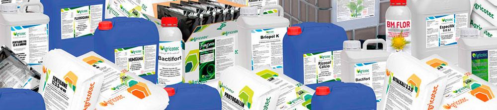 Catálogo de fertilizantes Agricotec